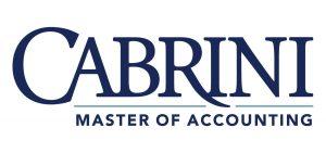Cabrini University Masters of Accounting Logo