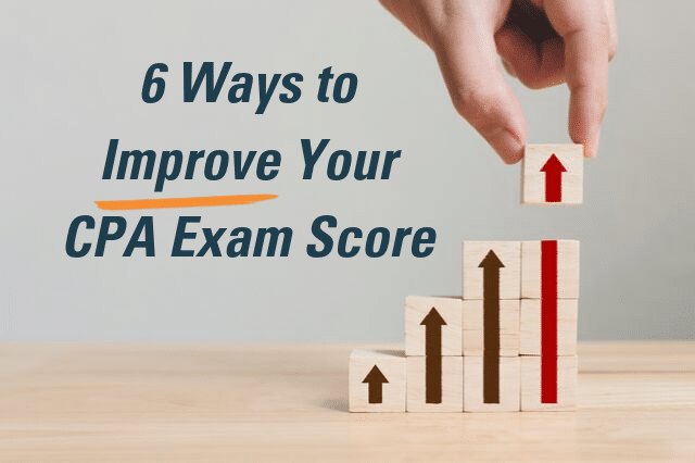 6 ways to improve your cpa exam readyscore